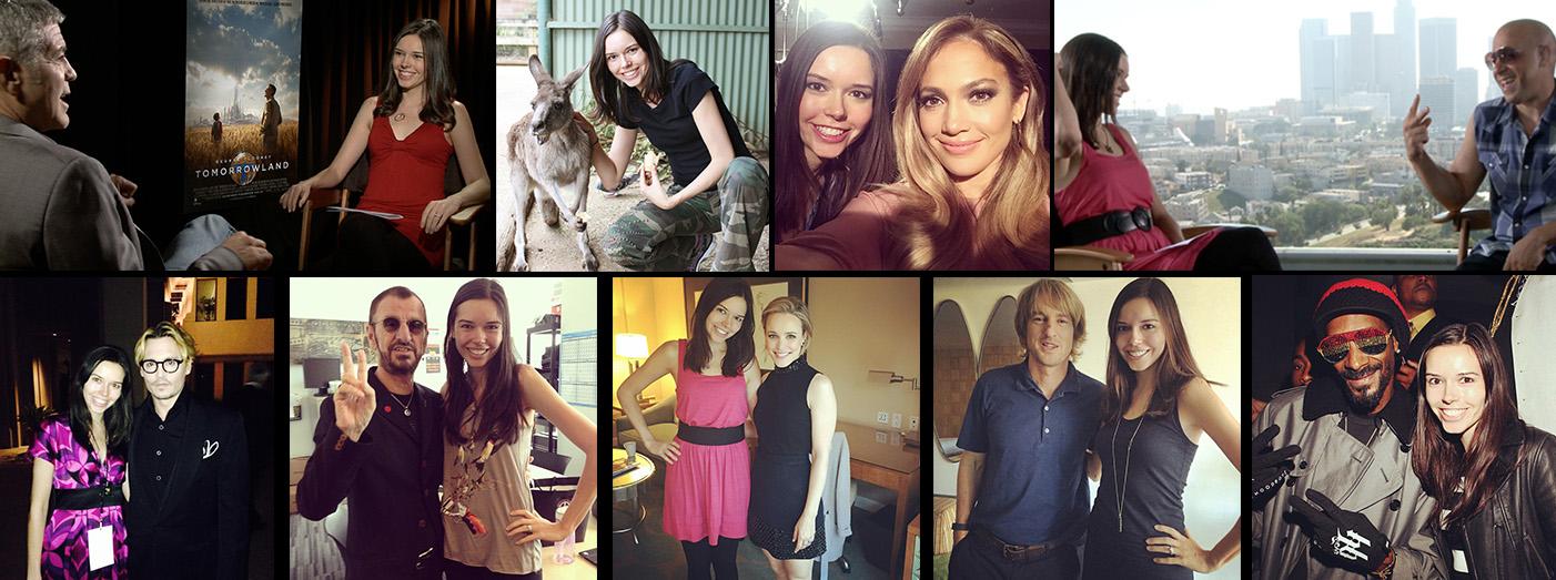 Nicole Pajer Interviews George Clooney, Jennifer Lopez, Owen Wilson, Ringo Starr, Snoop Dogg